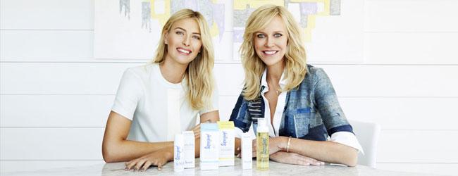 Sharapova invierte en cosméticos