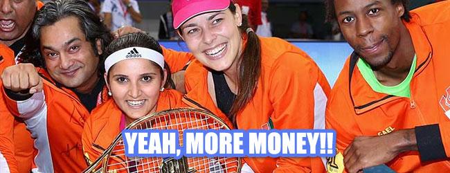 IPTL, la millonaria liga de tenis