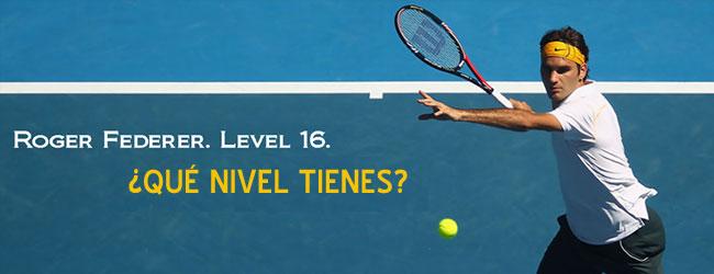 ¿Cuál es tu nivel de tenis?