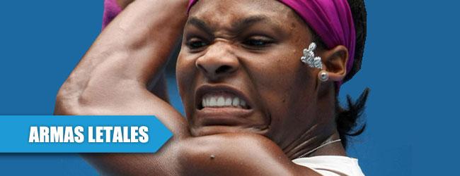 Estrategia vs. poder en el tenis femenina