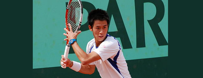 Tenista japonés Kei Nishikori hace historia