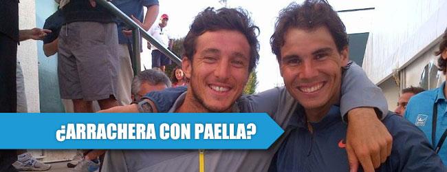 Rafael Nadal y Juan Mónaco