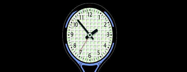 Los relojes y el tenis