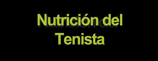 Nutrición del tenista