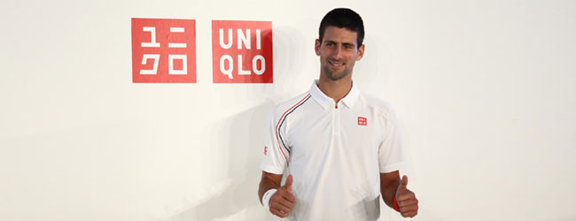 Novak firma con UNIQLO