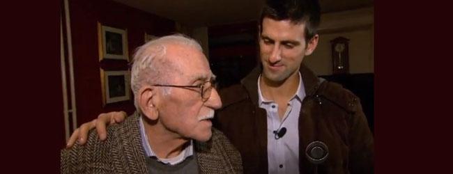 Tributo de Novak a su abuelo