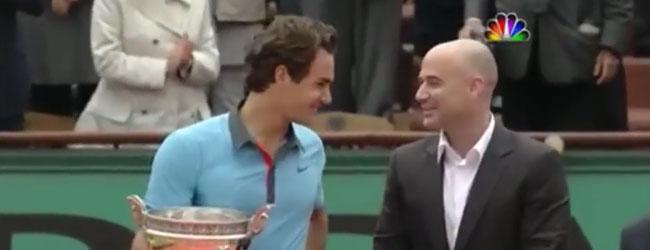 Roger Federer ganando Roland Garros 2009