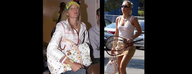 Louis Vuitton, obsesión de las tenistas