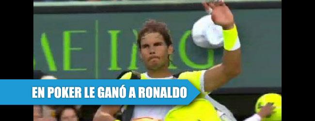 Rafael Nadal le podría ganar a Ronaldo