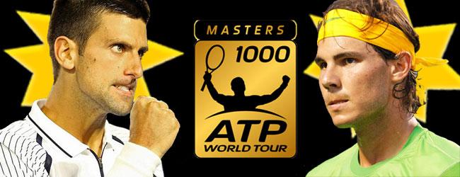 Djokovic y Nadal, monopolizan los Masters 1000