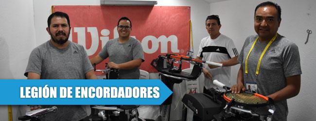 ¿Sabes cómo se hace el encordado de raquetas en el Abierto Mexicano?