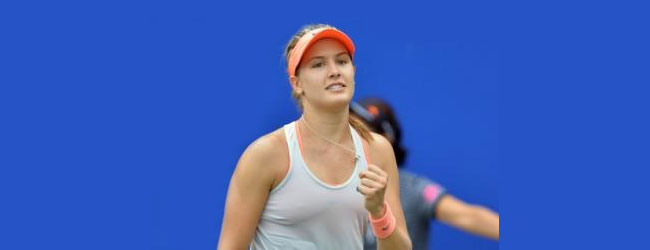 La más nueva sensación del tenis femenino