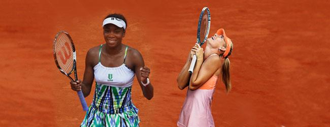 Sharapova: campeona color de rosa