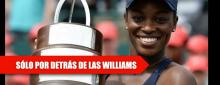 Stephens sigue invicta en finales