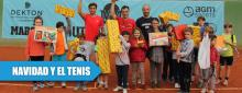 Navidad de juguetes y tenis en España