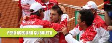 Perú domina a México en la Copa Davis