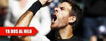 Del Potro liga Acapulco con Indian Wells