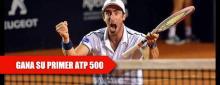 Cuevas gana ATP 500 en final 100% sudamericana de Río de Janeiro