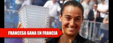 Caroline García triunfa en casa