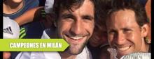 Reyes Varela campeón de dobles en Milán