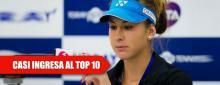Radwanska no permite a Bencic entrar en el TOP 10