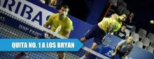 Brasileño desbanca a los Bryan