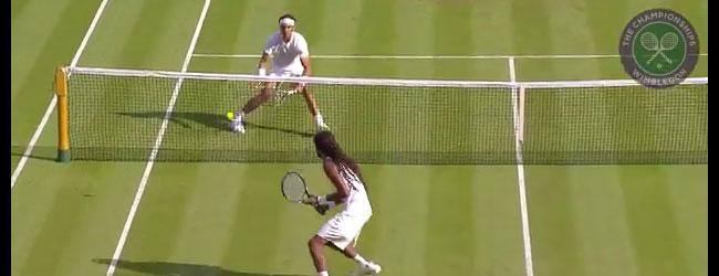 Dustin Brown vs Rafael Nadal